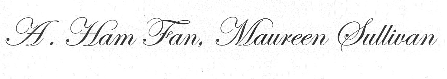 a ham fan signature